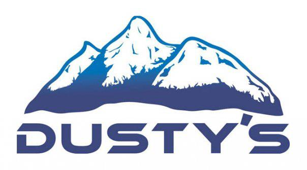 Dusty's Ski and Snowboard Shop Logo